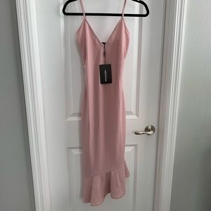 PrettyLittleThing Dresses - Lilac Frill Hem Dress